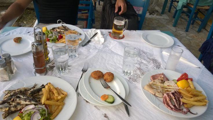 dinner time, Assos , Kefalonia
