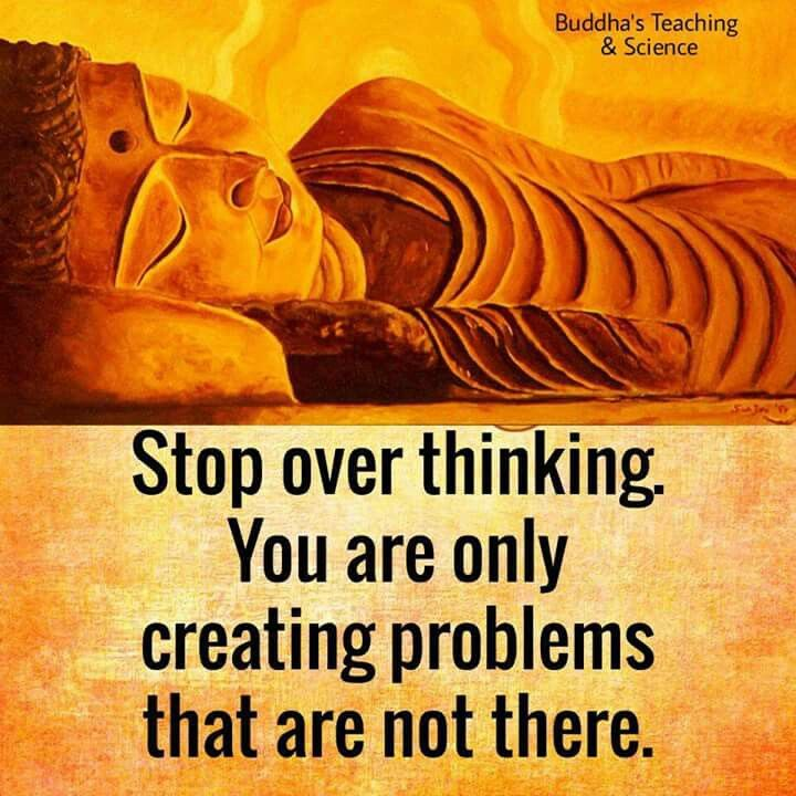Stop over thinking. You are only creating problems that are not there.