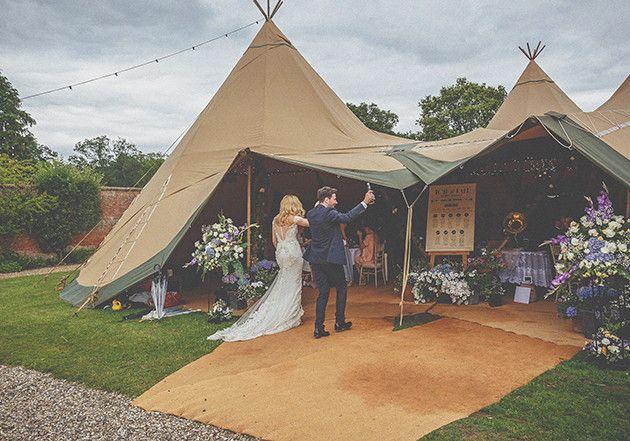 English Tipi Wedding | Howell Jones Photography | Bridal Musings Wedding Blog 29