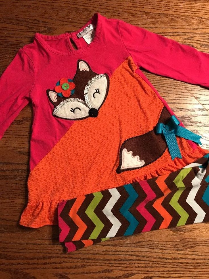 Emily Rose Toddler Girls Size 3T Fall Fox Top & Bottoms Outfit  | eBay