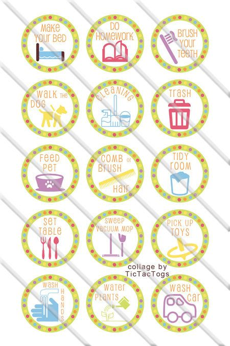 The  Best Printable Chore Chart Ideas On   Chore