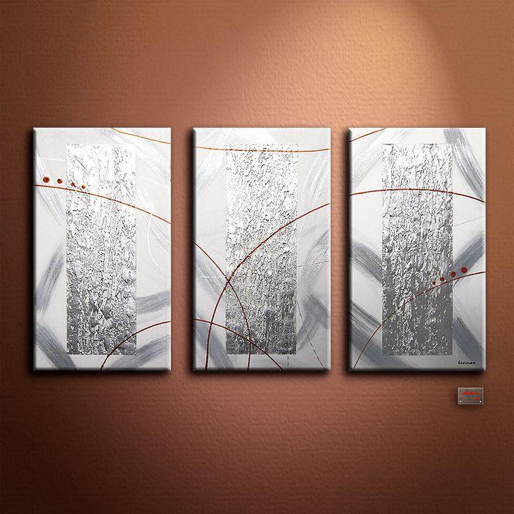 Lennox tableau abstrait peinture toile pièce unique peinture