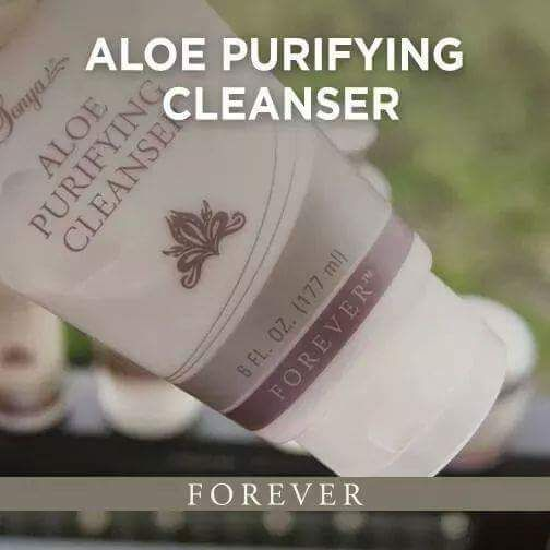 Sonya Aloe Purifying Cleanser - Refreshing cleanser infused with aloe, lemon and cucumber extracts, designed to gently remove makeup and other impurities without drying the skin.  177ml