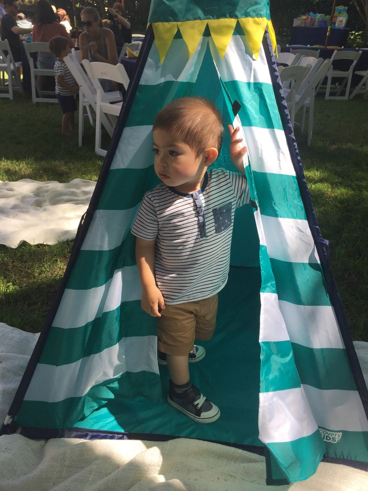 Birthday Party casual: Toddler boy outfit - H&M top, Cat & Jack shorts/shoes, size 2T/7