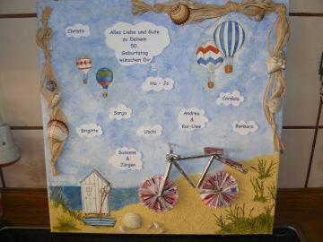 Fahrrad als Geldgeschenk- | geschenke | Home Decor und Bike