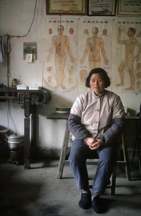 CHINA. Barefoot docter in Shanghai Commune. 1979