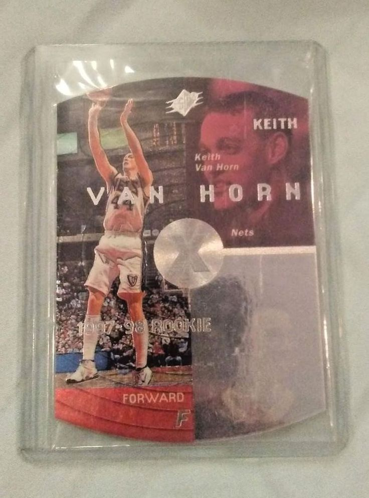 Keith Van Horn 1997-1998 SPx Grand Finale Rookie Card # 27 Collectible NEAR MINT