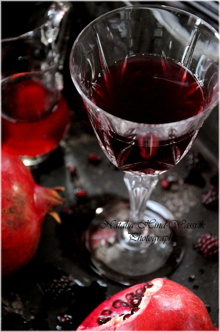 Blackberry – Pomegranate Juice