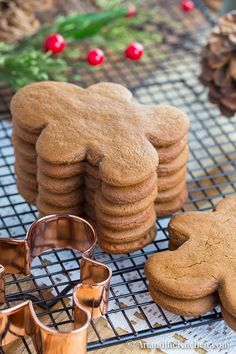 One of my favourite recipes for Gingerbread Cookies. Just the right amount of spice and they bake into perfect shapes.