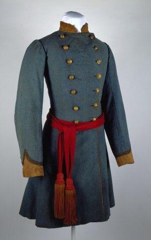Missouri State Guard uniform coat of Col. Austin M. Standish (Confederate) (1861 to 1865)