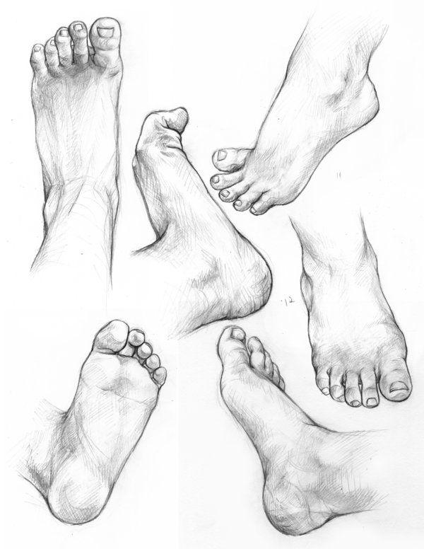 I finally uploaded those hands and feet~~