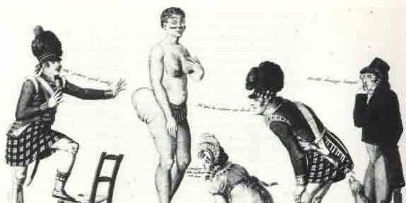Saartjie Baartman story. Surprising information regarding the disrespect of the black female's body.