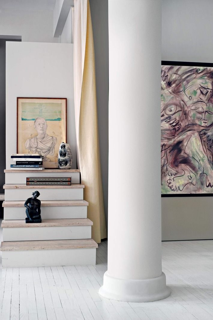 Inside a (mostly) untouched artist's loft — a rarity in New York.