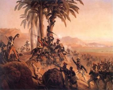 Case Study 1: St. Domingue - The Rebellion Haitian revolution  Saint Domingue was controlled by the French and had the largest enslaved population in the Caribbean. It had a booming sugar industry that had created the world's richest colony, with half a million enslaved Africans. It produced more than 30% of the world's sugar and more than half its coffee.