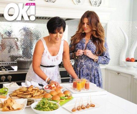 The Kardashian's Château Cooker    Kris Jenner & Khloe Kardashian-Odom – Photo August 9, 2011  http://www.lacornue.com/       Image curtousy of ....
