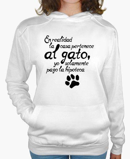 Camiseta La casa es del gato