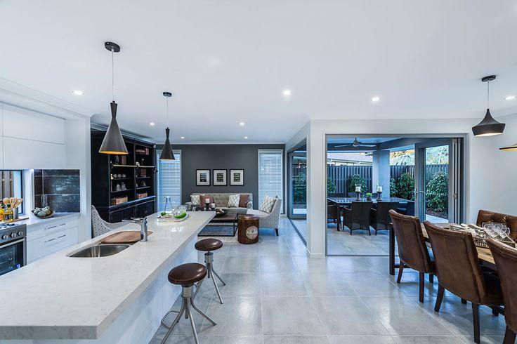 Grey scheme open living