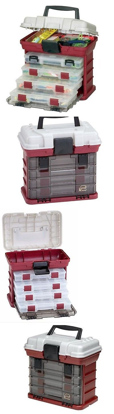 Tackle Boxes and Bags 22696: Fishing Tackle Box Plano Tray Storage Lures Bait Case Tool Organizer Drawer Bulk BUY IT NOW ONLY: $33.67
