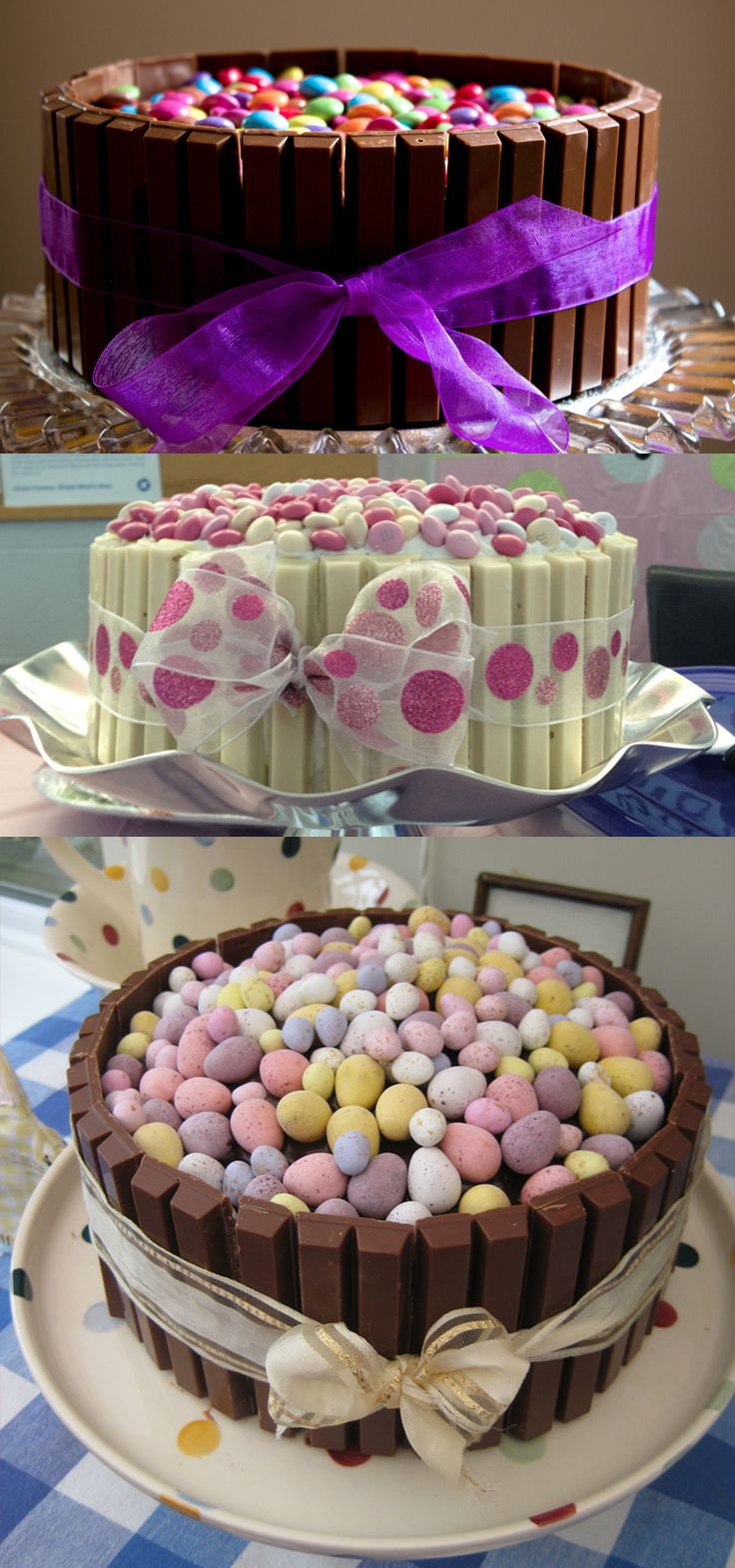 This kit kat mini egg cake is truly ADORABLE perfect for any Easter celebration and will most likely taste perfect too !