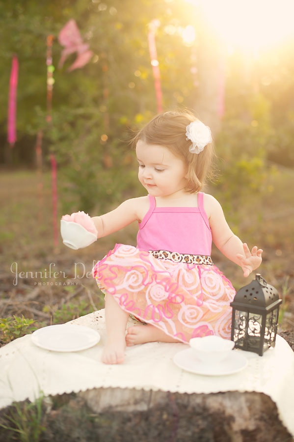 Tea party haute baby clothing session www