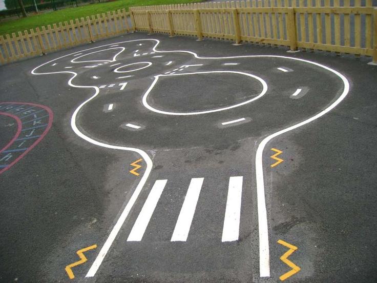 Road Markings | Playground Markings