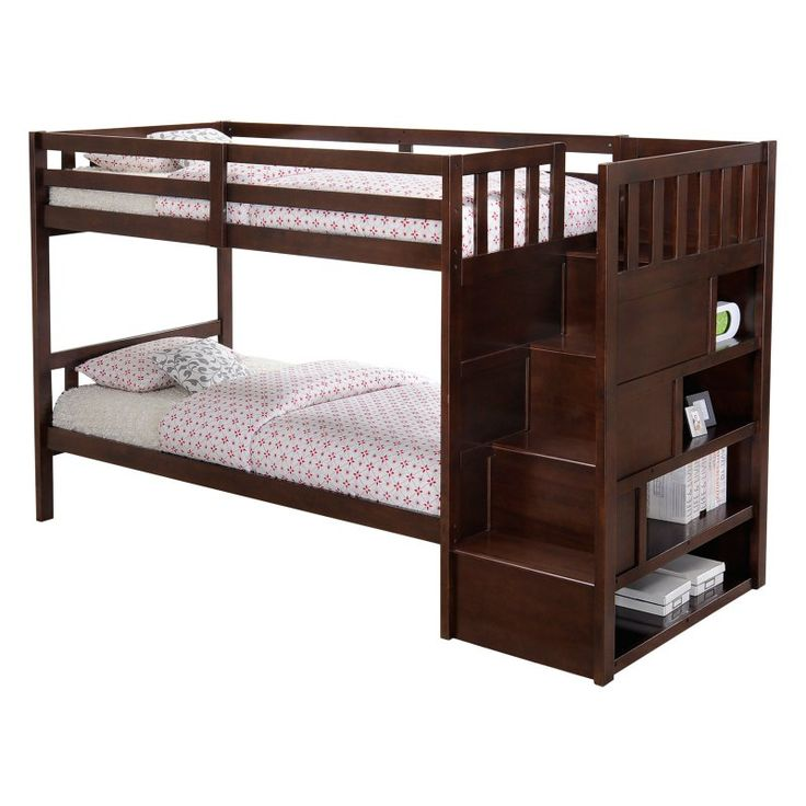 Best Mission Hills Staircase Bunk Bed Udf657 1 Bunk Beds 640 x 480