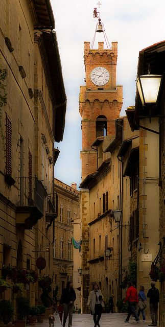 Pienza ~ Province of Siena, in the Val d'Orcia in Tuscany, Italy