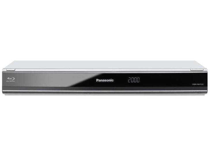 Enregistreur Blu-ray Panasonic Dmr-pwt535 avec double Tuner TNT HD prix promo Lecteur enregistreur DVD blu-ray Conforama 480.50 €