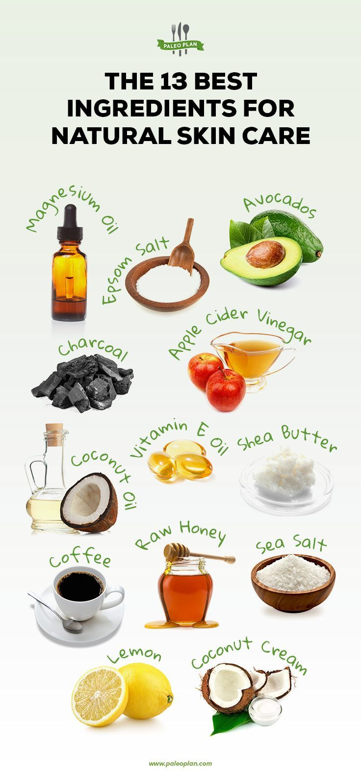 The 13 Best Ingredients For Natural Skin Care With Images