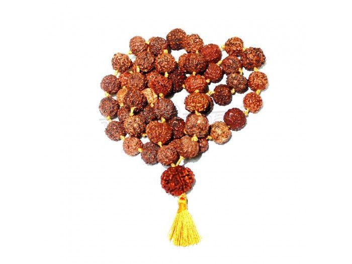 Seven Mukhi Rudraksha Kantha Mala Online | Vedicvaani.com, India's most trusted brand in authentic genuine rudraksha beads online, Free worldwide shipping.