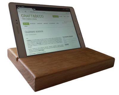 Soporte para tablet | CraftAndDeco.com