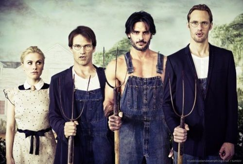True Blood!!: Make Me Laughing, Bad Things, Blood Menonita, Entertainment Obsession, Trueblood, Bloodoh Yeah, True Bloodoh, True Blood Cast, American Gothic