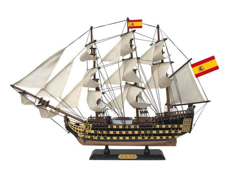 Santisima Trinidad Tall Ship Model 24""