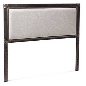 Brooklyn King Metal Headboard - Grey - The Industrial Shop™ : Target