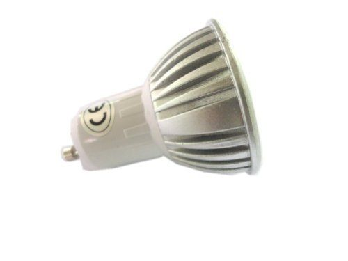 LENBO Dimmable High Power Warm White GU10 3W LED spotlight Bulb Spot Light down Lamp AC85V-265V D13 by LENBO. $6.26. 1. LED type:High Power LED spotlight 2. Color: Warm White 3. LED Quantity: 3*1W High Power LED 4. LED Base: GU10 5. View angle: 20 degree- 30 degree 6. Working input Voltage: AC 85V-265V 7. Power : 3W 8. Temp. Color: : 3000K-3200K 9. Size : 50*55mm 10. LM: 240LM-270LM 11. Dimmer : Dimmable