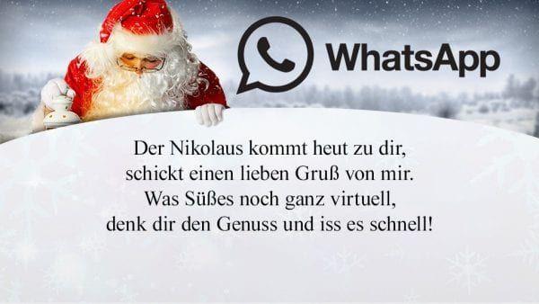Liebe Grusse Zum Nikolaus Kostenlos Die Schonsten Und Lustigsten Whatsapp Spruche Zum Die Schonste Lustige Whatsapp Spruche Spruche Fur Whatsapp Nikolaus Spruch