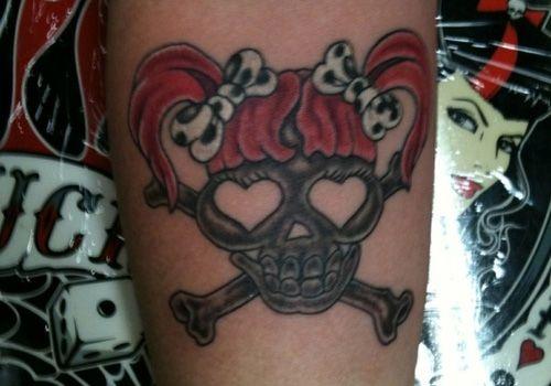 cute girly tattoo | cute-girly-skull.jpg