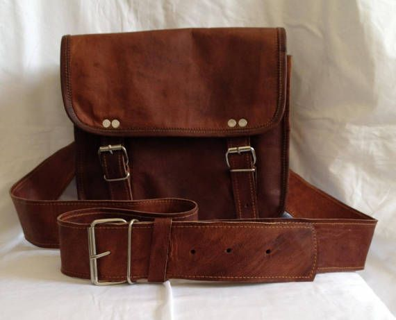 New 10 Two Tone Genuine Leather Brown Satchel Shoulder