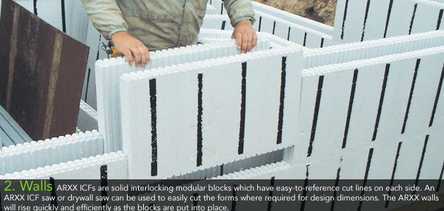 This is such an awesome wall system especially if you for Icf foam block construction