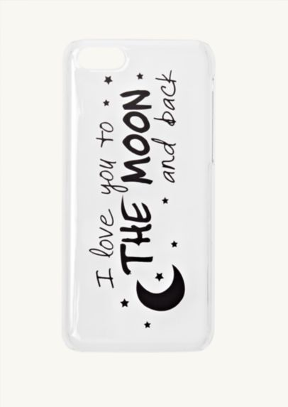 Love Moon Clear iPhone 5C Case | Cases & Charms | rue21
