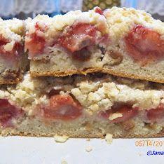 Ciasto drożdżowe z truskawkami.