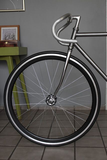 Polished Fuji bike from Mexico by @Lisa German Jimenez #FGF #Mexico #fixedgear…