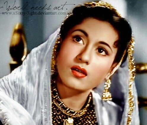 Madhubala... the perfect indian beauty