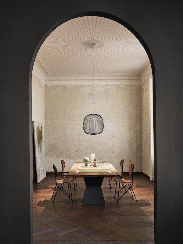 Spokes by foscarini lamp design