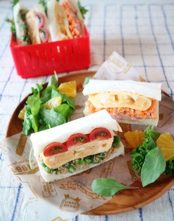 お麩でふわとろたまごのサンドイッチ by 石倉かおり | レシピサイト ...