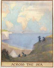 Margaret Tarrant - Across the Sea - GIRL GUIDE PRINT