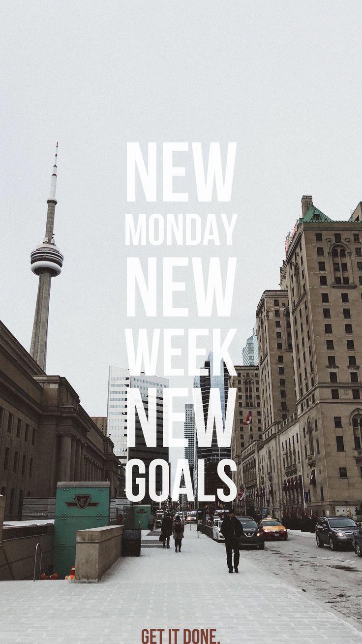 Crush those goals! #mondaymotivation