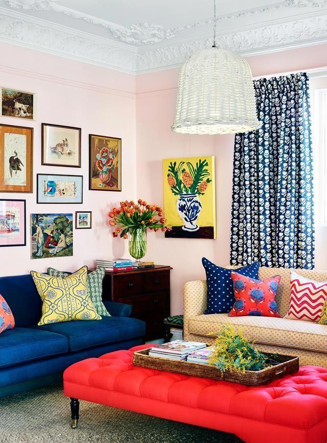 70 Bright And Colorful Living Room Designs Livingroomdesigns Livingroomcolor Funky Home Decor Living Decor Decor