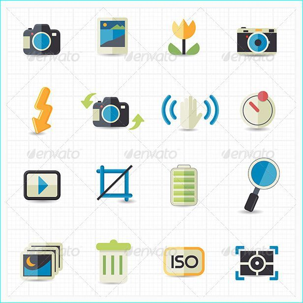 24 Premium Icons For Software Designs