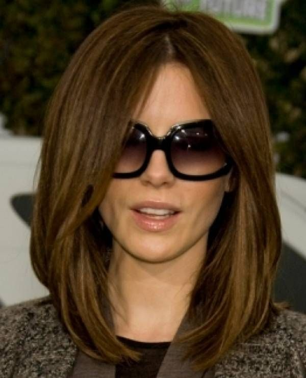 Bob Hairstyle For Long Hair With Round Face Shape Hair Styles Long Bob Hairstyles Long Bob Haircuts